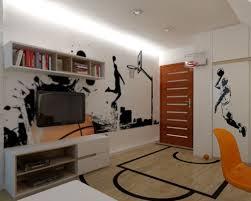 bedroom loft basketball room wallpaper basketball room