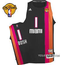 Chris Bosh Swingman In Black Adidas Nba Finals Miami Heat