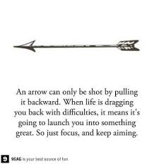 Arrow Quotes Life