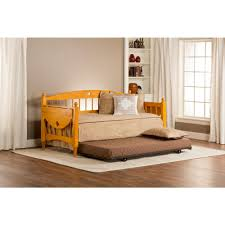 daybed with trundle. Hillsdale Furniture Dalton Medium Oak Trundle Day Bed Daybed With