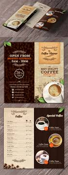 Coffee Shop Brochure Template 24 Refreshing Coffee Shop Brochure Designs Naldz Graphics 2