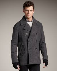 gallery previously sold at neiman marcus men s peacoats