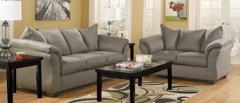 Ashley Furniture Darcy Cobblestone Living Room Set A