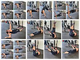 crunchless core exercises 10 suspension trainer core exercises