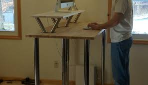 desk creative desk tops reinvented with plywood cardboard and table wonderful under the desk bike
