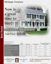 mortgage flyer template real estate flyer ideas mortgage flyers software real estate