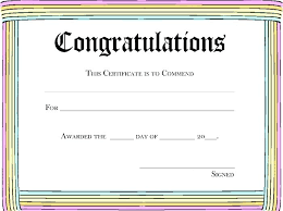 Blank Award Templates Blank Certificate Templates For Word