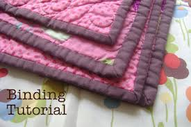 "How to bind or finish a quilt & Binding a quilt is the final step in finishing. Before you bind, you need  to somehow ""quilt"" your quilt. This means to attach the front and back, ... Adamdwight.com"