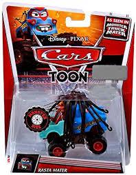 Amazon.com: Disney Pixar Cars Toon Monster Truck Mater 1:55 Scale ...