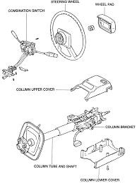 Tilt steering column exploded view of chrysler pictures to pin on