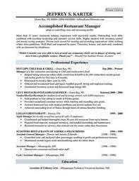 Restaurant Manager Resume Objective Download Best Of Restaurant Resume Objectives B4 Online Com