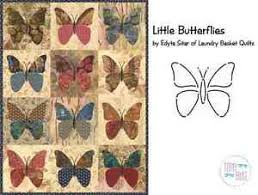 Little Butterflies Applique Quilt Pattern & Stencil ~ Edyta Sitar ... & Image is loading Little-Butterflies-Applique-Quilt -Pattern-amp-Stencil-Edyta- Adamdwight.com