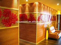 Foshan Ruccawood WPC Wood Plastic posite Modular Home s Wall