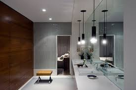 Brilliant Designer Bathroom Light Fixtures View In Gallery Ultra Modern Lighting With Inspiration