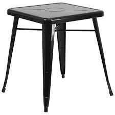 industrial table black