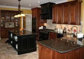 kitchen backsplash cherry cabinets black counter. Kitchen Backsplash Cherry Cabinets Black Counter With Kitchens Distressed Travertine St Louis Tile I