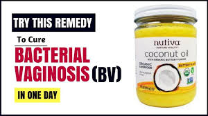 coconut oil for bv treatment at home natural remedy