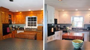 before after 10 diy kitchen cabinet makeovers