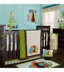 kidsline zutano elephants 4 piece crib bedding set