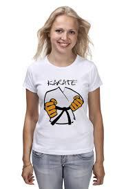 Футболка классическая <b>Карате кимоно ги Karate</b> #906853 ...