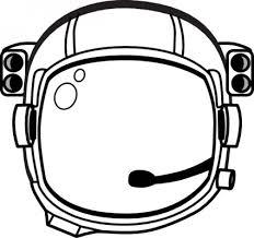宇宙飛行士 S ヘルメット クリップ アート ベクター クリップ アート