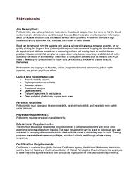 Public Health Resume Sample Entry Level Phlebotomy Resume Examples Examples of Resumes 73