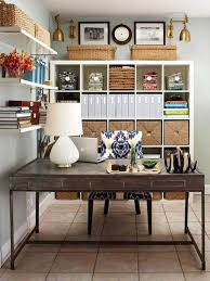 home office work table. Interior 23 Pictures Awesome Home Office Ideas: Stylish Rectangular Reclaimed Wood Work Table With Fascinating A