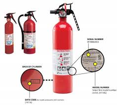 Kidde Recalls Fire Extinguishers With Plastic Handles Due To