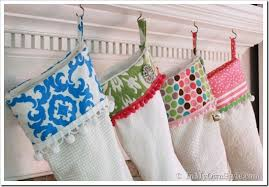 Merry & Bright Christmas Stocking Pattern - In My Own Style