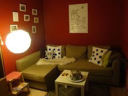 Wohnzimmerwand Rot Kreativhbraonline