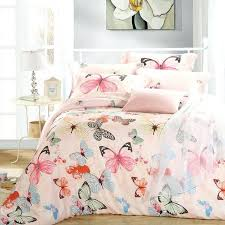 dimensions uk luxury erfly queen king size bedding sets pink quilt duvet cover sheets bed in a bag