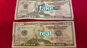Usa China Youtube 50 Compare Bill From - Vs Real Fake