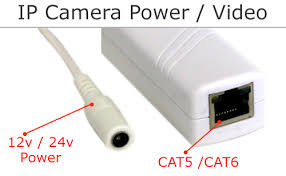 cctv installation and wiring options if you are going to power your ip camera 12v 24v power you will still run all of your cat5 or cat6 from the camera to a non poe switch usually