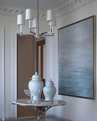 2 story foyer chandelier height
