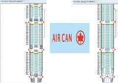 Boeing 777 300 Seating Chart Air Canada