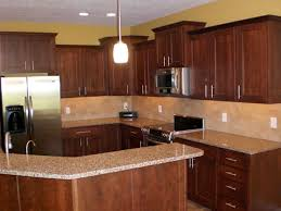 Kitchen Color Ideas With Cherry Cabinets 56320 Texasismyhomeus