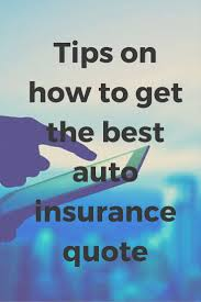 how to get the best car insurance quote