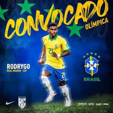 O brasil é o atual campeão olímpico e a olimpíada será disputada em tóquio, no japão, no ano que vem. Atacante Rodrygo E Convocado Para A Selecao Brasileira Olimpica Un1que Football