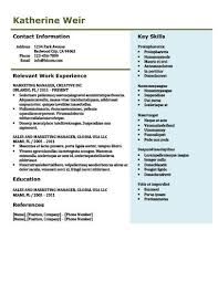 Modern Resume Contact Information Modern Resume Templates 64 Examples Free Download