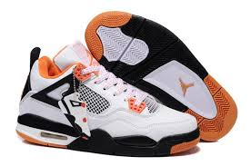 jordan shoes for girls 2014 black and white. new 2014 latest retro air jordan iv mens in white black orange sneakers shoes for girls and
