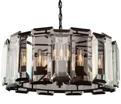 contemporary black chandelier in 2018 artcraft ac10269 palisades modern matte black chandelier lighting gallery 8