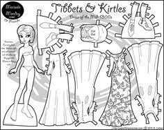 Small Picture In the 1940s Paper Doll Coloring Page Frozen paper dolls