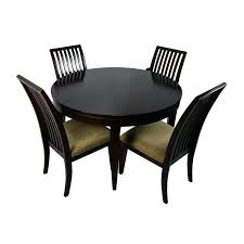 round folding dining table medium size of chairs with white wood chair