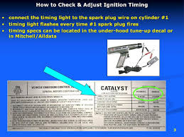 Check Timing Without Timing Light Ignition Timing R Bortignon Ppt Download