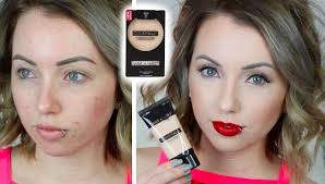 wet n wild coverall foundation powder first impression review acne pale skin you