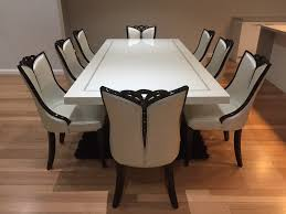 dining tables with 8 chairs throughout bianca marble table king decor 2