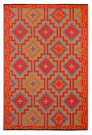 aberdeen orangeviolet outdoor rugs home design orange rug 5 1y the best