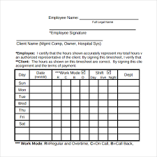 Free Printable Timesheets For Employees Extraordinary Numbers Timesheet Templates 48 Free Sample Example Format