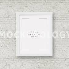 8x10 horizontal frame mockup white baroque by mockupology 16x20 24x30 vertical digital poster photography bricksinstant