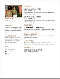 Resume Cover Letter Template Best Resumes And Cover Letters Office